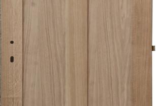 Masivní dubové kazetové interiérové dveře VILA.