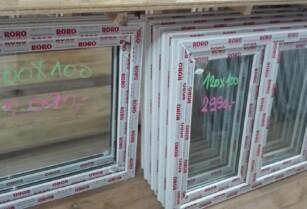Prodám nová plastová okna