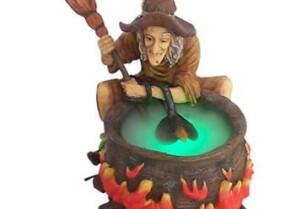 Dekorační aroma fontána – Mlhová čarodějnice.