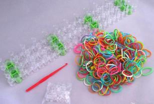 Loom Bands gumičky na výrobu náramků – 600 ks