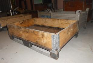 kovové transportní palety