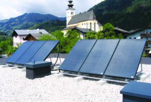 solární kolektory na ohřev teplé vody, bazénu, vytápění + příslušenství