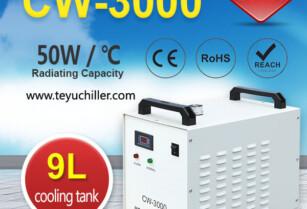 Vzduchem Chlazené Vodní Chladiče Cw-3000