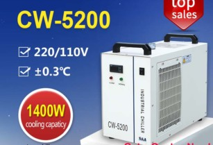 Recirkulační Kompresorové Chladiče Vody Cw-5200