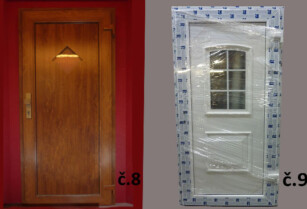 Plastové vchodové dveře