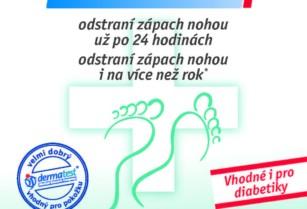 Mast na odstranění plísně na nohách a zápachu